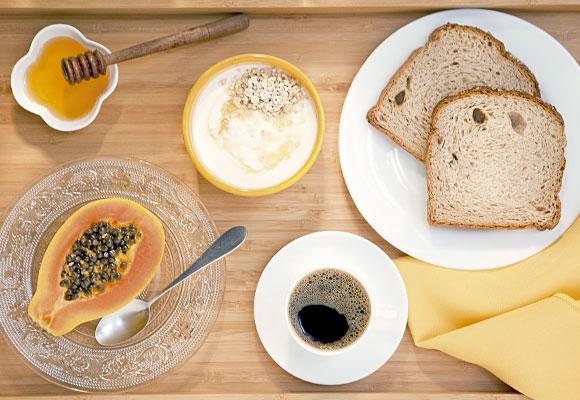 café da manhã para emagrecer com saúde